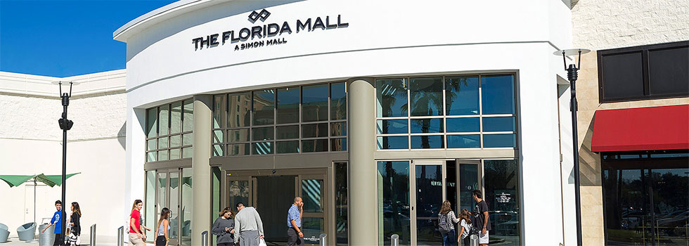 Florida Mall Entrance